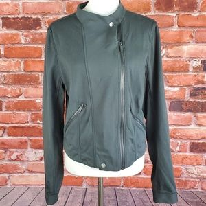 Calvin Klein Grey Moto Jacket